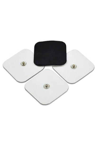 Aromel Çıtçıtlı Tens Pedi | 4 Adet 5x5 Cm | Çıtçıtlı Tens Elektrodu