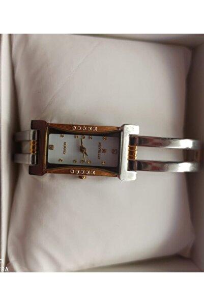Revello Klasik Kadın Gümüş Kol Saati Ret-784l
