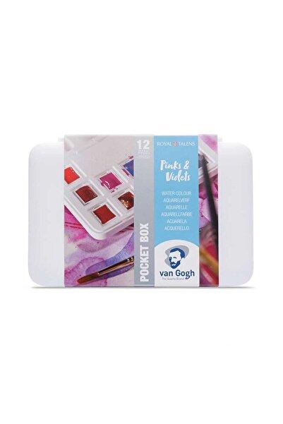 Van Gogh Suluboya Seti Pinks & Violets 12 Renk