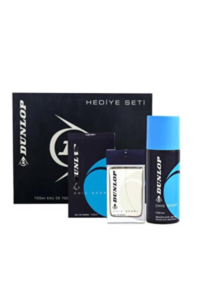 DUNLOP Klasik Mavi Edt 100 Ml + 150 Ml Deodorant Erkek Parfüm Seti 8690587202908