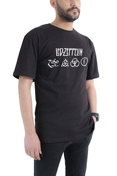 Tshigo Oversize Led Zeppelin Baskılı T-shirt