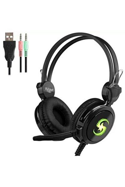 JUNGLEE Gaming Headset Mikrofonlu Usb Kulaküstü Kulaklık T591