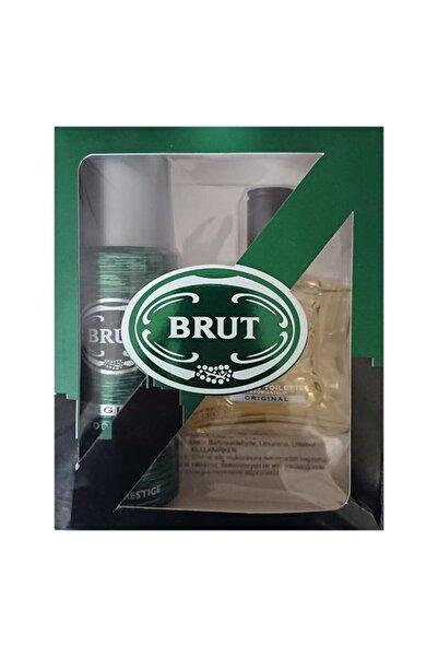 Brut Edt 100ml + Deo 200ml Set Orginal