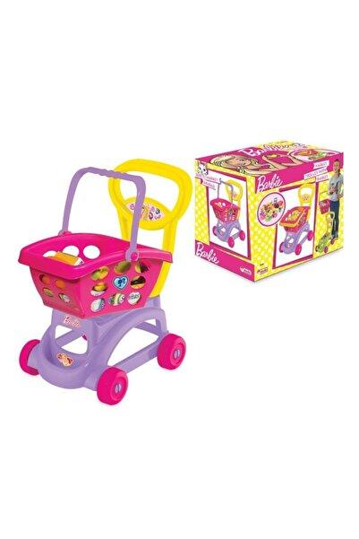 FEN TOYS Orjinal Lisanslı Oyuncak Barbie Sepetli Market Arabası