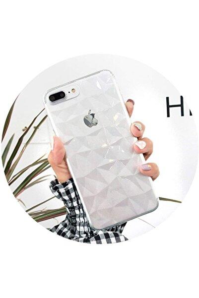 Go Aksesuar Apple Iphone 6 Plus 6s Plus Uyumlu Piramit Desen Darbe Önleyici Kılıf
