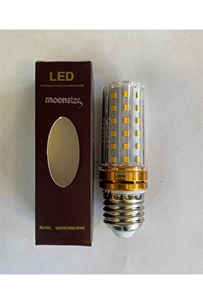 Moonstar Mısır Led Ampül 12 W E-27 Duylu Gün Işığı