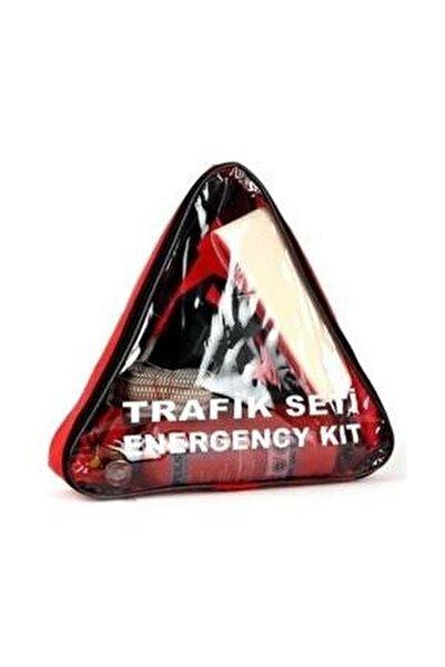 Trafik Ve Ilk Yardım Seti (yangın Söndürme Tüplü) Boyunluklu Üçgen