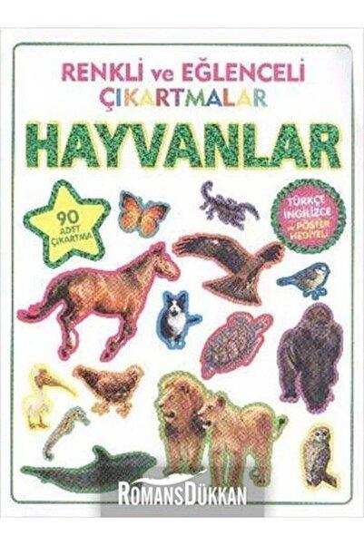Parıltı Yayınları Renkli Ve Eğlenceli Çıkartmalar - Hayvanlar