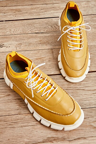 Bambi Sarı Erkek Sneaker