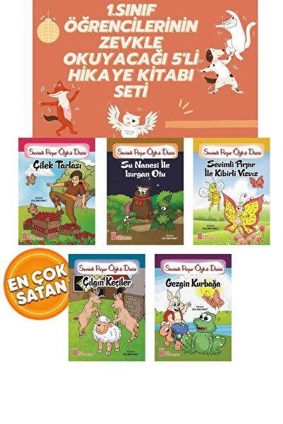 Timaş Yayınları 1.sınıf Öğrencilerinin Zevkle Okuyacaklarıı 5'li Hikaye Kitabı Seti Okuma Kitabı