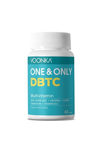 Voonka One Only Dbtc Multivitamin 62 Tablet