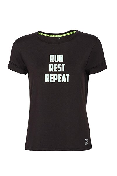 Kinetix DEBRA T-SHIRT Siyah Kadın T-Shirt