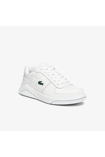 Lacoste Game Advance 0721 1 Sfa Kadın Beyaz Sneaker 741SFA0045