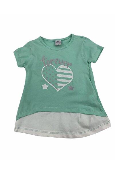 Baby Wood Kız Çocuk Forever Turkuaz Takım  2li
