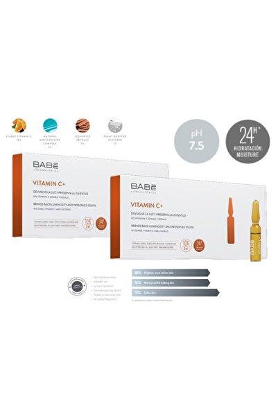 Babe Vitamin C+ Ampul: Aydınlatıcı Etkili Konsantre Bakım 10x2 ml - 2 Adet 8436571630353-2