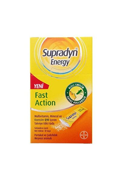 Supradyn Energy Fast Action 10 Saşe
