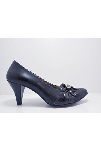 Genesis Kadın Siyah Klasik Topuklu Ayakkabı
