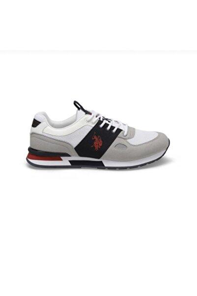U.S. Polo Assn. Erkek Beyaz Renk Rahat Spor Ayakkabı