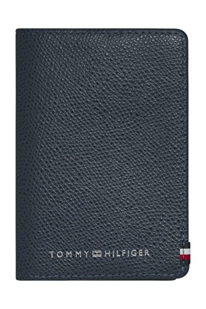 Tommy Hilfiger Erkek Mavi Cüzdan Busıness Busıness Cardholder AM0AM06720