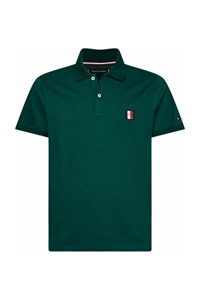 Tommy Hilfiger Erkek Flex Moulıne Badge Slım Polo