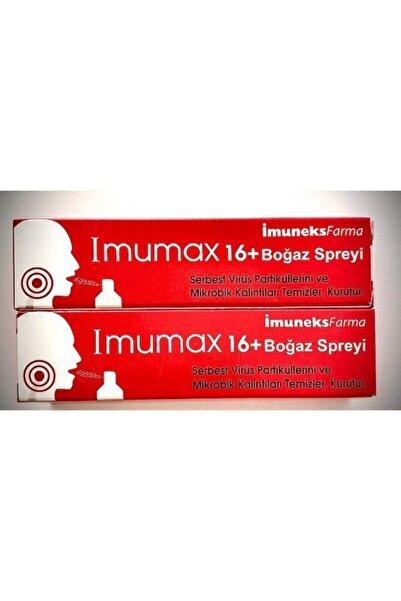 Imuneks Imumax Boğaz Spreyi+16 30 Ml*2 Adet Skt:03.2023