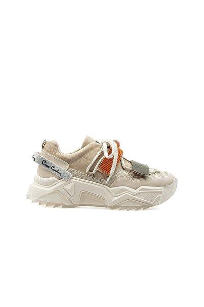 Pierre Cardin PC-30692 Bej Kadın Spor Ayakkabı