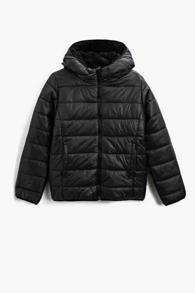Koton Kadın Siyah Ceket 1KAL58065OW