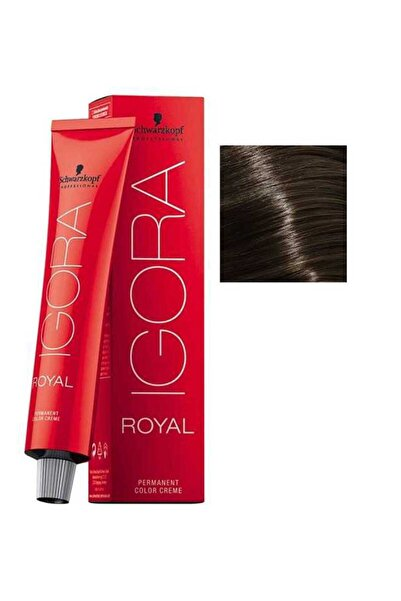 Igora Royal 6-0 Koyu Kumral 60ml