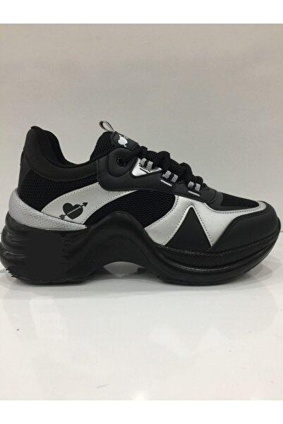 Twingo Unisex Siyah Spor Ayakkabı