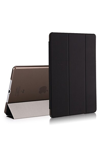 BizimGross Ipad Air 2 9.7 Inç A1566  Uyumlu Standlı Akıllı Uyku Modlu Pu Deri Tablet Kılıfı