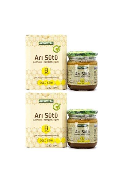 Aksu Vital Aksuvital Arı Sütü Bal Polen (b) 7.000 Mg - Çocuk X 2 Adet