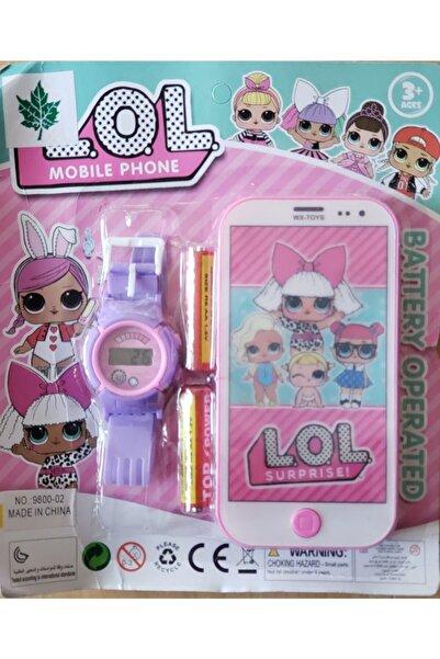 LOL Çocuk Oyuncak Telefon Saat Seti