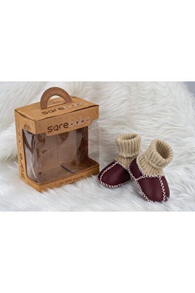 Sarebaby Unisex Organik Deri Bebek Ayakkabısı Yenis Sezon