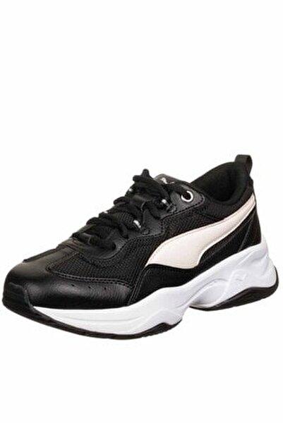 Cilia Silver White Kadın Günlük Spor Ayakkabı 369778-17 Sıyah