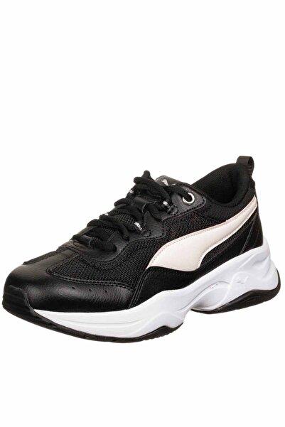 Puma Cilia Silver White Kadın Günlük Spor Ayakkabı 369778-17 Sıyah