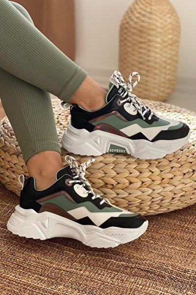 DARK SEER Kadın Siyah Beyaz Sneaker