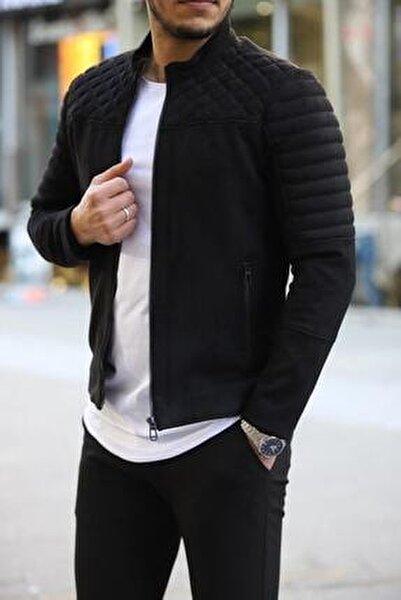 Süet Kareli Ceket