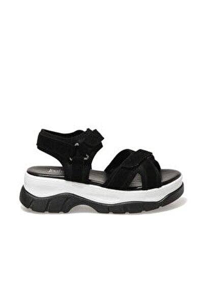 20s-6001fx Siyah Kadın Spor Sandalet