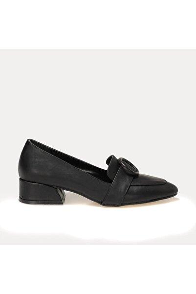 Butigo JENNY 1FX Siyah Kadın Loafer Ayakkabı 101044366