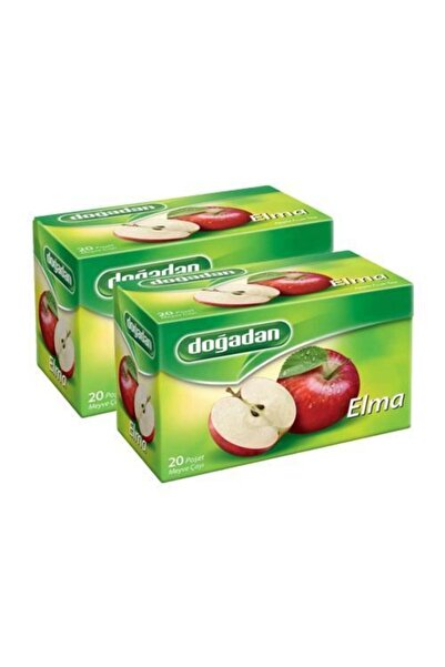 Doğadan Elma Çayı 20'li X 2 Kutu