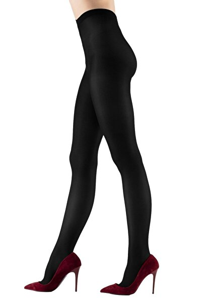 EMINNA Külotlu Çorap Micro 40 Siyah