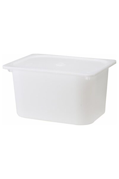 IKEA Trofast Saklama Kutusu 42x30x23, Beyaz, Oyuncak Kutusu