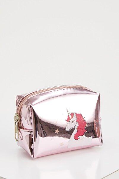 DeFacto Unicorn Baskılı Küçük Çanta