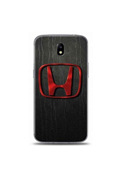 Desing World Samsung Galaxy J7 Pro Uyumlu Hyundai Logo Tasarımlı Telefon Kılıfı Rb56