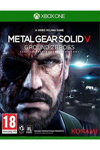 KONAMI Xbox One Metal Gear Solıd V: Ground Zeroes