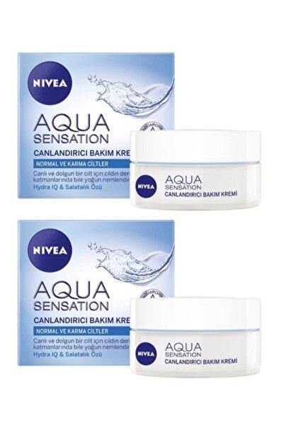 Nivea Aqua Sensation Canlandırıcı Yüz Bakım Kremi 50 ml 2 Adet