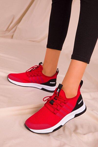 SOHO Kırmızı Kadın Sneaker 15195