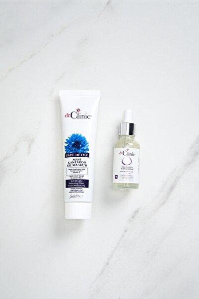 Dr. Clinic Cilt Bakım Seti (mavi Kil Maske+collagen Serum)