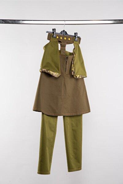 Futuristiklover Kadın  Military Etek Pantolon