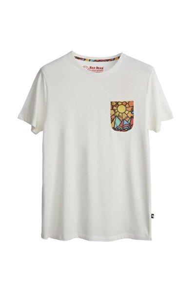 Bad Bear Erkek Beyaz T-shirt